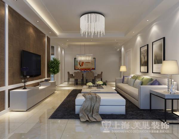 洛阳开元壹号130平三室两厅现代装修效果图