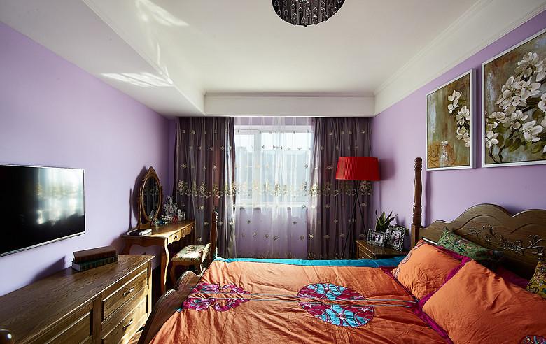 卧室图片来自家装大管家在奇妙色彩搭配 令人难忘95平美宅的分享
