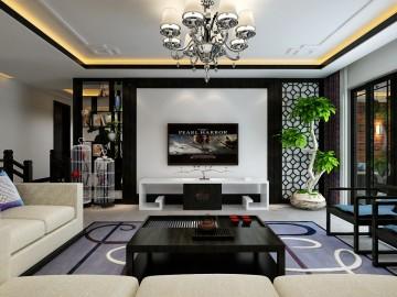 144m²现代简约风格(花果园)