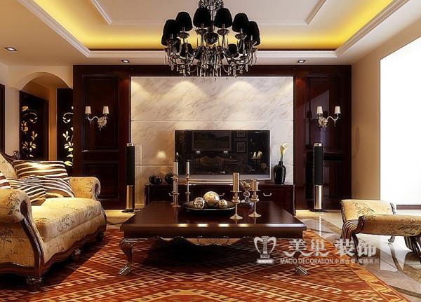 白云世纪名邸160平方新中式装修效果图