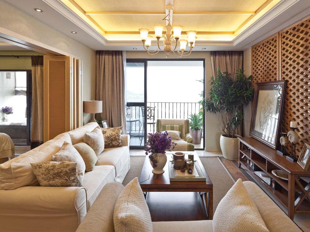 简约 欧式 客厅图片来自贵州城市人家装饰在150m²简欧风格(中铁逸都国际)的分享