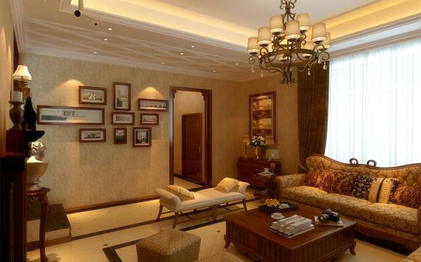 时尚的白色调沙发与装饰品的摆放,让整个客厅营造出时尚、高贵、轻松、愉悦的视觉感空间,没有任何的花哨装饰,给人的感觉是那样的宁静动人。
