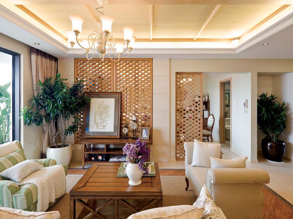 客厅图片来自贵州城市人家装饰在150m²简欧风格(中铁逸都国际)的分享