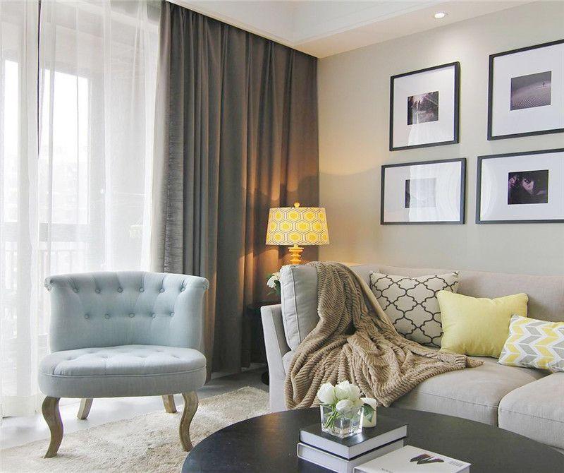 三居 现代 客厅图片来自成都幸福魔方装饰公司在金地金沙府邸120㎡现代简约的分享