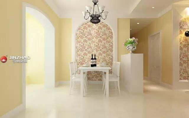 餐厅图片来自山西今朝装饰小闫在夏天到了,给家换个色彩的分享