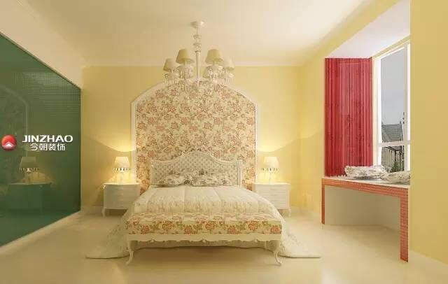 卧室图片来自山西今朝装饰小闫在夏天到了,给家换个色彩的分享