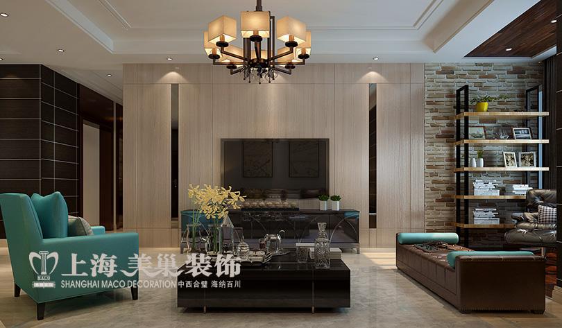 简约 小资 四居室装修 客厅图片来自河南美巢装饰在农大家属院170平方简约风效果图的分享