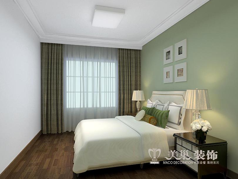 简约 小资 美式装修 卧室图片来自河南美巢装饰在开封家属院170平方五室美式乡村的分享
