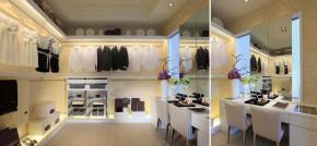 简约 欧式 新古典 四居室 白领 80后 小资 华侨城东岸 衣帽间图片来自成都V2装饰在净白奢华 欧式新古典居家的分享