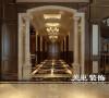思念果岭520平别墅装修新古典风格效果图
