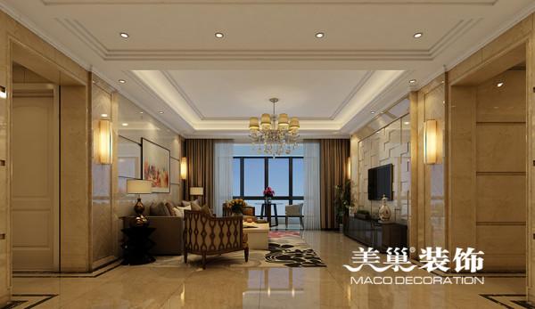 启福尚都180平四室两厅装修现代效果图样板间