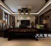 省军区家属院500平新中式装修图