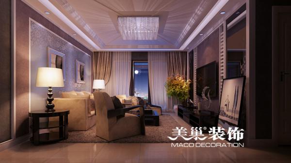 圣菲城4室2厅装修150平案例现代简约效果图