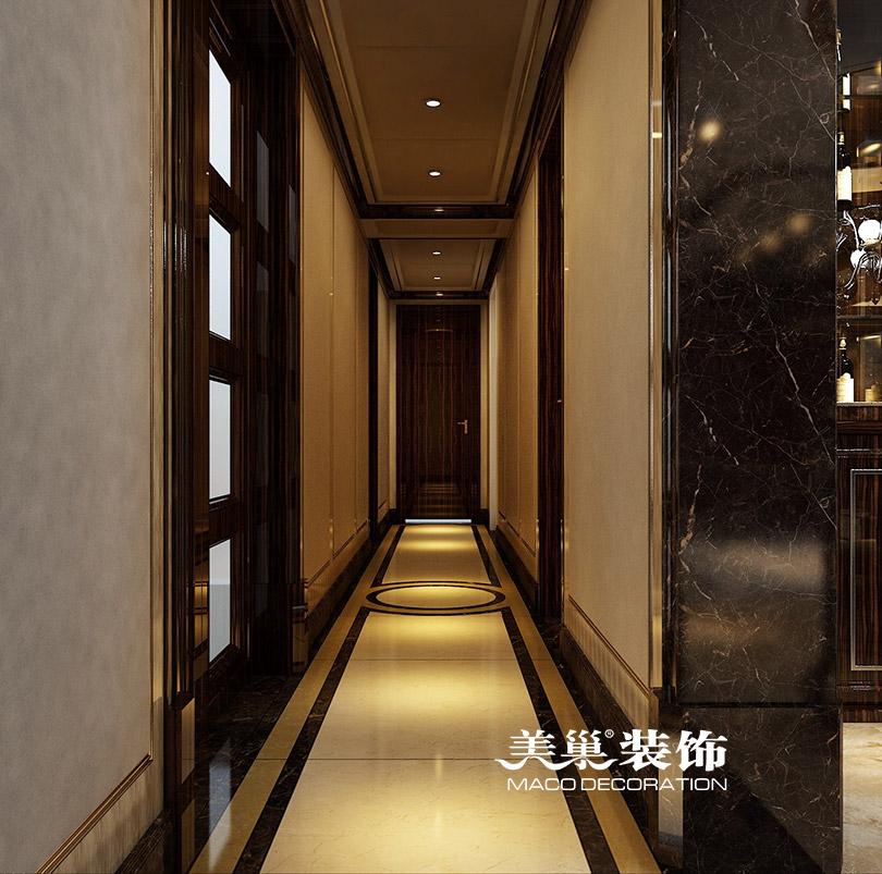 简约 港式装修 玄关图片来自河南美巢装饰在银河丹堤280平五室装修效果图的分享