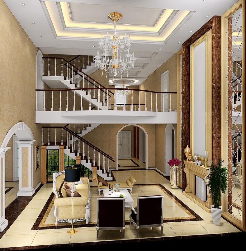 简约 欧式 别墅图片来自DJ今朝装饰在欧式的味道的分享