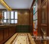 碧桂园360平别墅美式装修设计图