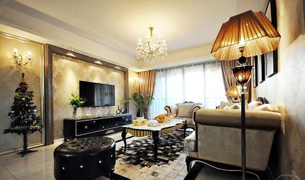 欧式 简约 田园 客厅图片来自北京大成日盛装饰设计在欧式 三居室 案例欣赏的分享