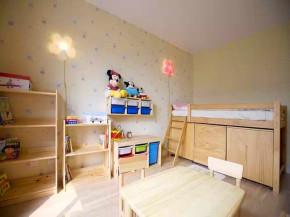地中海 田园 复式 混搭 白领 旧房改造 小资 客厅 儿童房图片来自沙漠雪雨在140平地中海田园混搭浪漫复式楼的分享