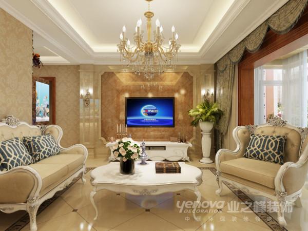 湖滨文锦苑146平米简欧风格设计装修效果图——太原业之峰