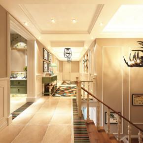 简约 欧式 混搭 美式 白领 80后 小资 楼梯图片来自成都V2装饰在春鸟报喜 花香溢满现代家的分享