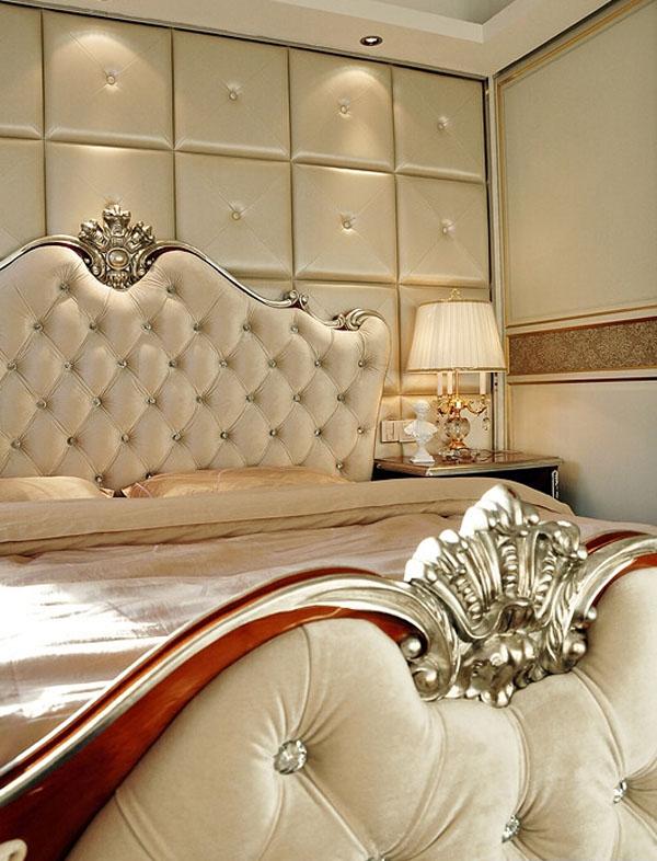 欧式 简约 田园 卧室图片来自北京大成日盛装饰设计在欧式 三居室 案例欣赏的分享