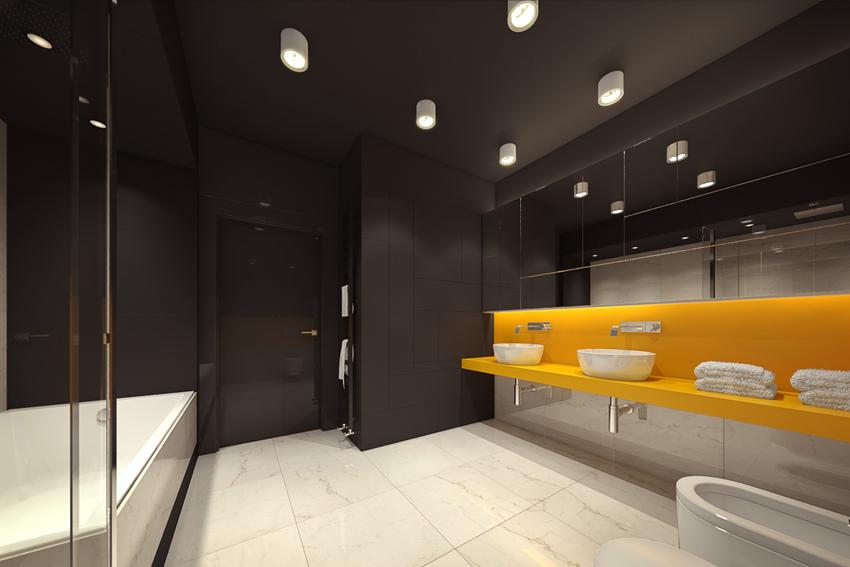 卫生间图片来自2212544651x在柠檬树装饰现代摩登公寓的分享