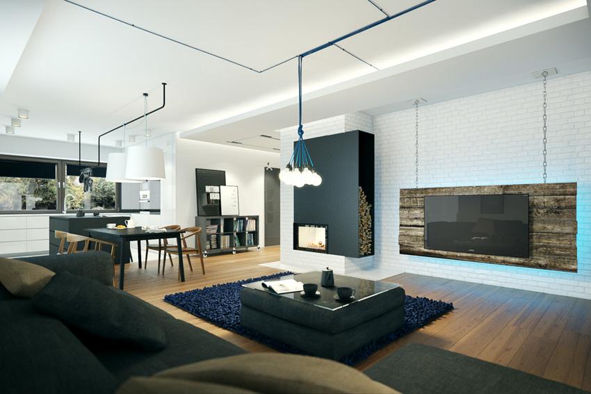 客厅图片来自2212544651x在柠檬树装饰现代摩登公寓的分享