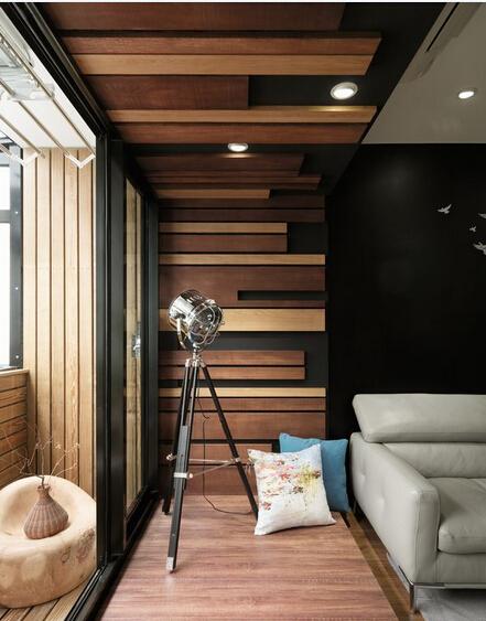 混搭 色彩 差异 客厅图片来自深圳柠檬树装饰设计工程有限公司在冲突体现空间美的分享