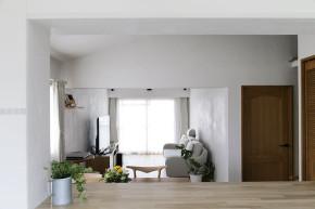 日式 宜家 广电兰亭都 三居 收纳 客厅图片来自武汉苹果装饰在猫舍—日式淡雅三居的分享