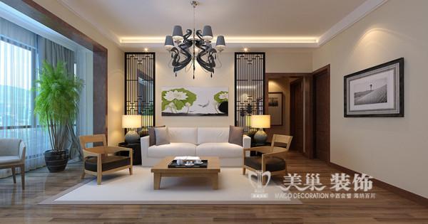 亚太明珠现代简约风格装修设计案例3室2厅居室效果图