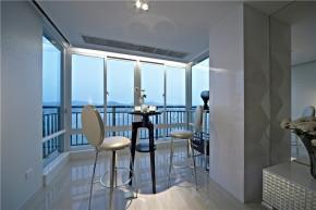 三居 新古典 阳台图片来自成都幸福魔方装饰公司在皇冠国际124㎡新古典风格的分享