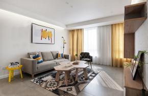 简约 宜家 白领 收纳 二居 客厅图片来自武汉苹果装饰在原木宜家的分享