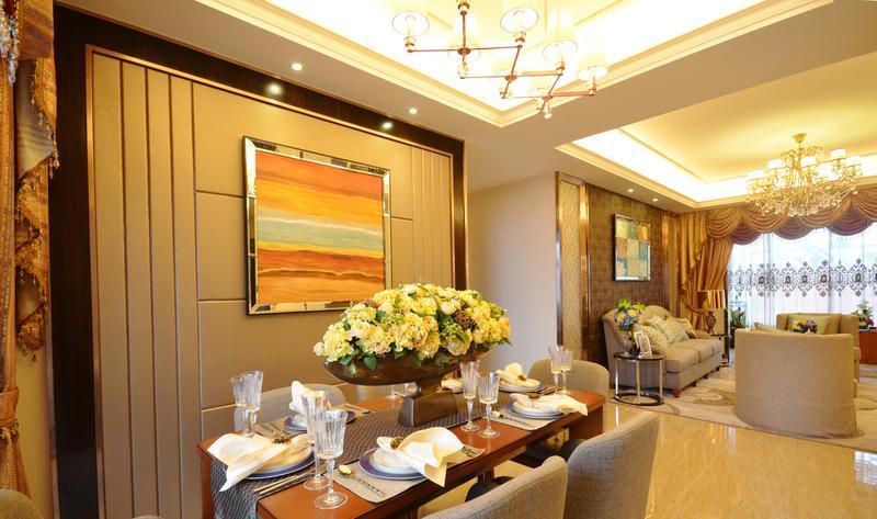 美式 三居 餐厅图片来自今朝装饰张智慧在焕然一新的美式三居室的分享