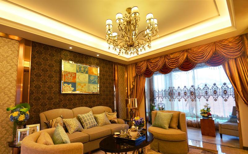 美式 三居 客厅图片来自今朝装饰张智慧在焕然一新的美式三居室的分享