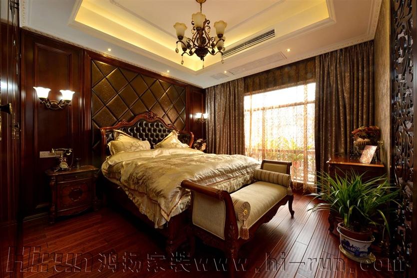 欧式 80后 收纳 卧室图片来自鸿扬家装武汉分公司在锦绣长江之白色欧风的分享