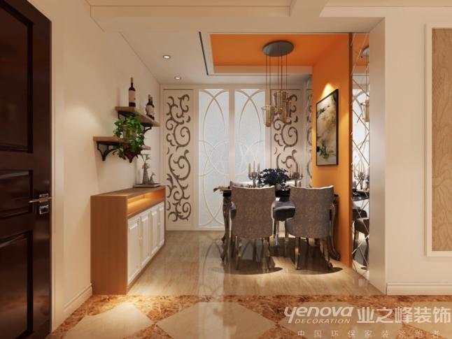 三居 太原业之峰 餐厅图片来自太原业之峰诺华装饰杨丽茹在暖风依依的分享