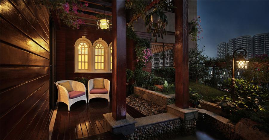 田园 美式图片来自Studio.Y余颢凌设计工作室在半岛城邦的分享