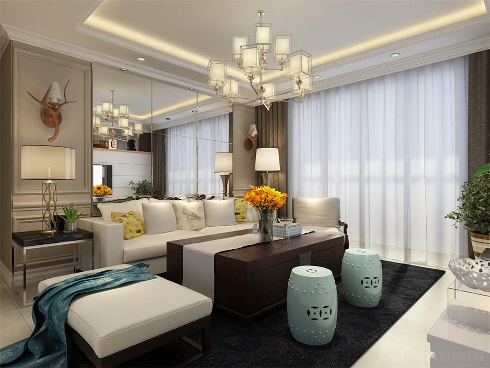 二居 混搭 白领 收纳 80后 小资 客厅图片来自阳光力天装饰在力天装饰-奥莱城 109㎡的分享