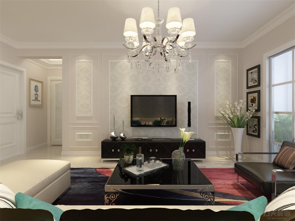 三居 混搭 收纳 80后 小资 白领 客厅图片来自阳光力天装饰在力天装饰-诺德名苑82㎡的分享
