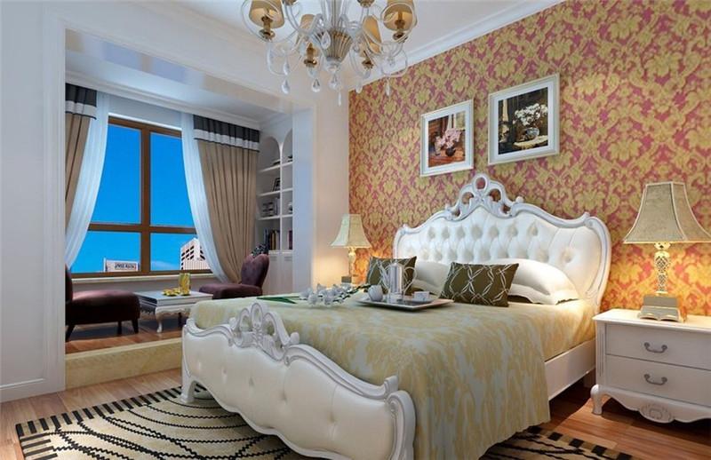二居 古典风格 卧室图片来自成都幸福魔方装饰公司在上东国际92㎡西式古典的分享