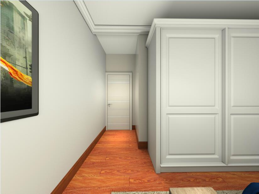 二居 混搭 欧式 简约 木门 益圆木门 卧室图片来自益圆木门集团在益圆木门 城建•畅悦居 案例的分享