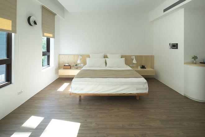 收纳 白领 别墅 北欧 小资 卧室图片来自武汉苹果装饰在猫舍—静沐日光和风的分享