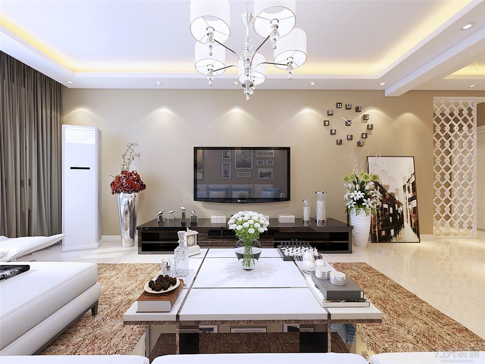 三居 简约 白领 收纳 80后 小资 客厅图片来自阳光力天装饰在力天装饰-欣悦华庭120㎡的分享