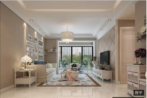 欧式 客厅图片来自西安紫苹果装饰工程有限公司在简欧风格6的分享