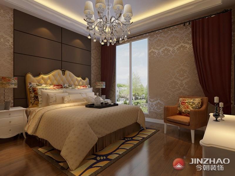 欧式 卧室图片来自阿布的小茅屋15034052435在昌盛双喜城180平米--欧式的分享