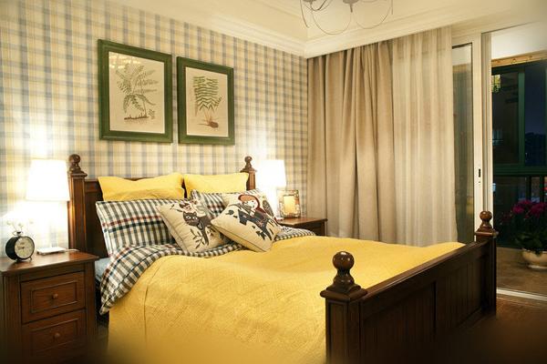 简约 田园 美式 四居 卧室图片来自北京大成日盛装饰设计在美式 四居 大成日盛案例欣赏的分享
