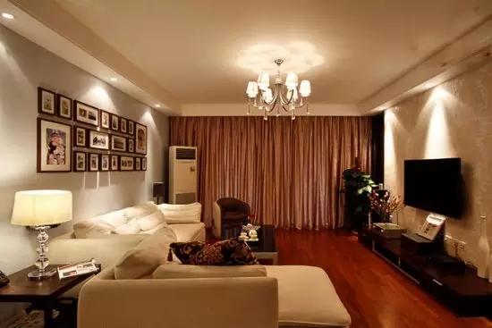二居 简约 旧房改造 收纳 现代 客厅 卧室 厨房 餐厅 客厅图片来自实创装饰晶晶在简单才是真治愈,95㎡简约两居的分享