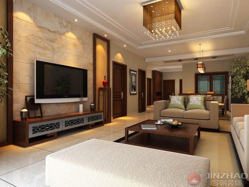 客厅图片来自装家美在文湃苑144平米-中式风格的分享