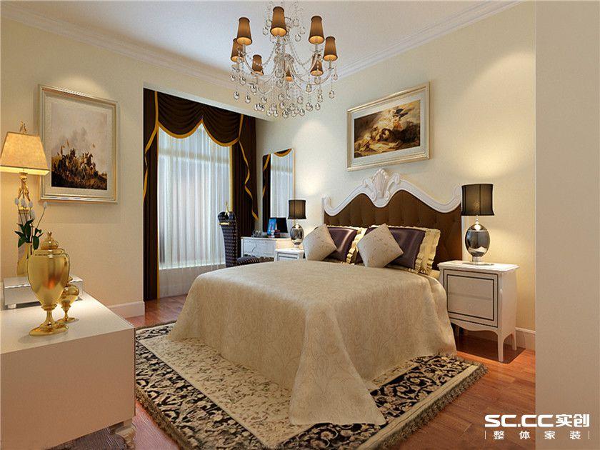 现代简约 二居 华凯花园 70平米家居 最美效果图 卧室图片来自武汉实创装饰张娟在温馨现代风的分享