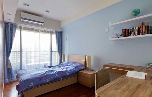 简约 欧式 别墅 卧室图片来自北京大成日盛装饰设计在宜家 别墅 刘工长案例欣赏的分享